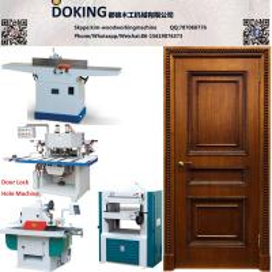 Wholesale Solid wooden door production line wood door making machines from china suppliers