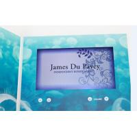 Wholesale custom Multi - page handmade lcd video greeting card for fair display from china suppliers