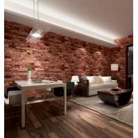 Wholesale Contemporary economical waterpoof  3D brick foam Vinyl Wallpaper from china suppliers