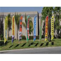 Wholesale Personalized Garden Beach Flag Banner Display / Outdoor Vinyl Banners from china suppliers