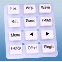 Wholesale OEM Silicone Rubber Keypad For Electronic Equipment , Light Weight For Computer from china suppliers