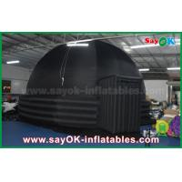 Wholesale 2 Doors Inflatable Mobile Planetarium Dome Projection Tent For Movie Education from china suppliers