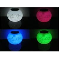 Wholesale solar glass decoration night light from china suppliers