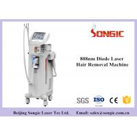 Buy cheap 600w High Power 808nm Diode Laser Hair Removal Machine Vertical Type White Color from wholesalers