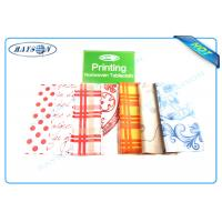 Wholesale Full Range Color Customized Printing Patern PP Non Woven Fabric for Tablecloth from china suppliers