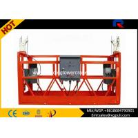 Wholesale 380v Aluminum Alloy Suspended Working Platform For Building Facade Maintenance from china suppliers