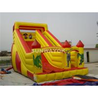 Wholesale Mickey Mouse and Donald Duck Fair Giant Inflatable Commercial Slide With Durable PVC Fire-retardant from china suppliers