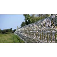 Wholesale Professional Concertina Razor Wire Fencing For Parking Places / Railway Stations from china suppliers
