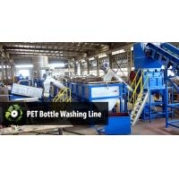 Buy cheap Automatic & Manual plastic Film Recycling Machine , PET Plastic Bottle Crusher Machine from wholesalers