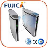 Wholesale Automatic Flap Barrier Gate with Fingerprint Reader Access Control from china suppliers