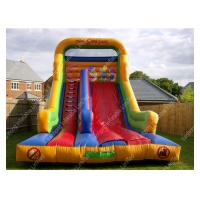 Wholesale Commercial Outdoor Inflatable Water Slides With Double Lane For Playground from china suppliers