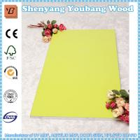 Quality high gloss wood grain uv mdf board for kitchen cabinets for sale