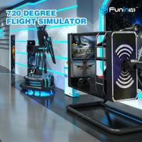 Wholesale 50 inch Screen VR Flight Simulator ,  720 degree Virtual Reality Experience from china suppliers