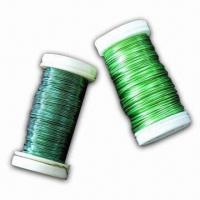 Wholesale Metallic Wire on Plastic Spool with Galvanized, Black Annealed, or Painted Surface from china suppliers