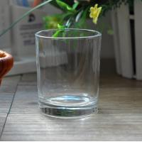 Wholesale 7oz Transparent replacement votive glass candle holders Machine Press from china suppliers