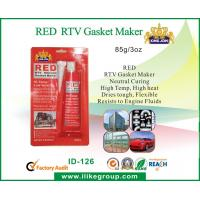 Wholesale Heat Resistant Red RTV Gasket Maker , Flexible Quick Drying Silicone Sealant from china suppliers