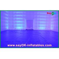 Wholesale Party/Camping Transparent Inflatable Square Tent With Led Lighting from china suppliers