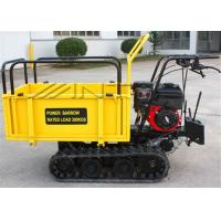 Wholesale Crawler Driven 0.3 Tons Gasoline Engine small dumper WITH Mechanical Transmission Case from china suppliers