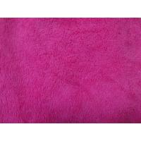 Quality Red colorful warp terry cloth 50*60 textile microfiber household cleaning towel for sale