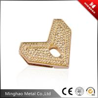 Wholesale Zinc alloy metal bag clip buckle 45.13*40.33mm,lovely heart handbag buckle clasp from china suppliers