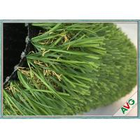 Quality 12800 Dtex No Glare Outdoor Synthetic Grass PU Coating For Garden / Landscaping for sale