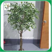 Buy cheap UVG PLT14 artificial indoor plants banyan tree bonsai for restaurant decoration from wholesalers