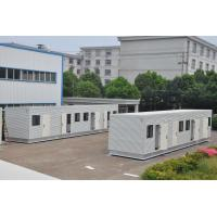 Wholesale customized prefabricated modern steel structure modular container house from china suppliers