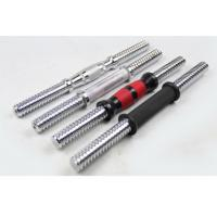 Wholesale 14'' 25mm Straight Dumbbell bar for sale with rubber handle grip from china suppliers
