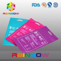 Wholesale OPP Header Bags With Adhesive Strip For Tissue /  Printed Cellophane Bags With Logo from china suppliers