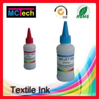 Wholesale 4 colors 500ml dtg textile ink all direct to garment printers in digital printing from china suppliers