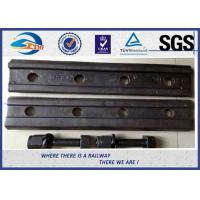 Wholesale Railroad Joint Bars and Bolts, Railway Fish Plate Fishplate with 4 Or 6 Holes from china suppliers