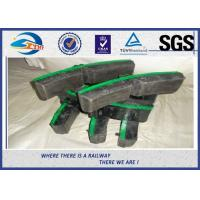 Wholesale Customized Railway Brake Blocks Pad Grey Cast Iron train brake shoes from china suppliers