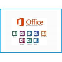 Wholesale Office Professional 2013 Product Key Card MS Office 2013 Pro Plus online activation from china suppliers