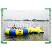 Wholesale Inflatable Water Trampoline / Floating Air Jumping Trampoline from china suppliers