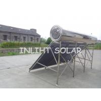 Compact Pressurized Solar Water Heater 360L  with stand frame  for  Hotel Water Heating