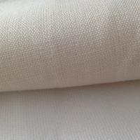 Quality 390GSM Woven Hemp Cloth , Gray Hemp Canvas Fabric  for Travel Luggage Bags 16Nm / 2 * 7Nm for sale