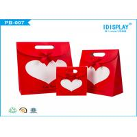 Wholesale Wedding WelcomePaper Gift Bags , Decorative Paper Bags With Ribbon Bowknot from china suppliers