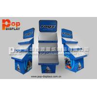 Wholesale Recyclable Corrugated Cardboard Display Stands / cardboard display racks from china suppliers