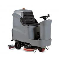 Quality Famous brand automatic battery type ride on fast dry  floor scrubber dryer tile floor cleaning machine for sale