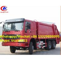 Wholesale Hot selling SINO TRUK HOWO 6*4 16M3 Compressed rubbish Truc, wholesale good price 16m3 garbage compctor truck from china suppliers