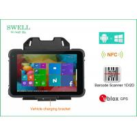 Wholesale Dual os Rugged Handheld Computer 8inch intel CPU with barcode scanner optional from china suppliers