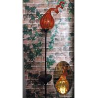Wholesale Solar Munaro Hand Blown Glass With Iron Stake from china suppliers