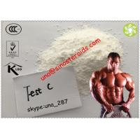 Wholesale Builds Lean Muscle Anabolic Steroid Raw Powder Testosterone Cypionate Test Cyp Testosterone Enanthate from china suppliers