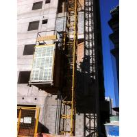 Quality Electric Construction Hoist Elevator Single Cage , Building Lift for sale