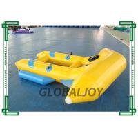 Wholesale 0.9mm Inflatable Flying Fish Boat 4 Persons Towable Boat For Water Game from china suppliers
