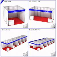 Wholesale 3x3M Standard Booth For Exhibition Expo Hall,Modular Shell Scheme Stand,R8 System Aluminiu from china suppliers