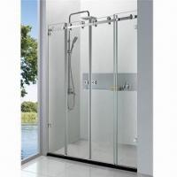 Wholesale SUS304 Luxury Screen Type Shower Room with 45m Chassis Height and 8/10mm Glass Thickness from china suppliers