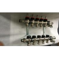 Wholesale House  Stainless Steel Water Manifold Sliver Color 5 Loop Radiant from china suppliers
