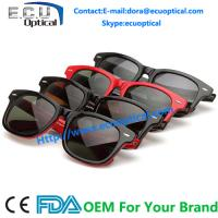 Wholesale 2014 Latest design Men Acetate Sunglasses wayfarer Handmade from china suppliers