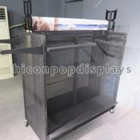 Wholesale Winter Outwear Clothing Retail Store Fixtures , Metal Shelf Racks from china suppliers